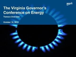 The Virginia Governor's Conference on Energy