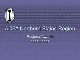 acfa northern plains region