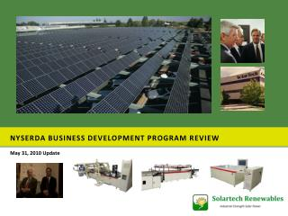 NYSERDA Business Development program Review