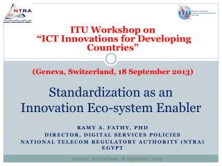 Standardization as an Innovation Eco-system Enabler