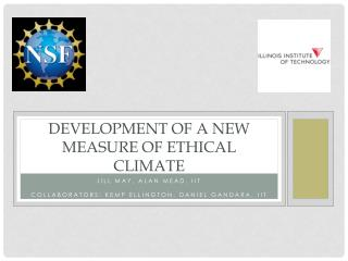 Development of a New Measure of Ethical Climate
