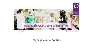 Integrated Systems, conception to five