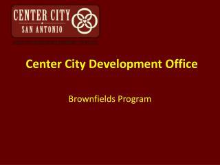Center City Development Office