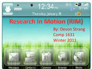Research In Motion (RIM)