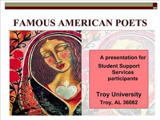 famous american poets