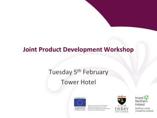 Joint Product Development Workshop