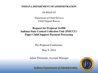 Indiana Department of Administration