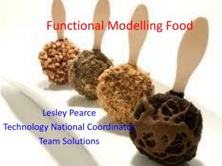 Functional Modelling Food