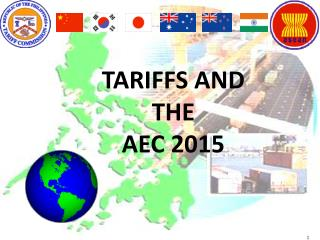 TARIFFS AND THE AEC 2015