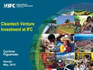 Cleantech  Venture Investment  at IFC