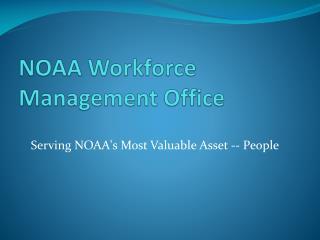 NOAA Workforce Management Office