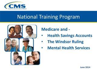 National Training Program