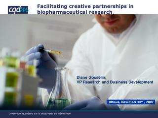 Facilitating creative partnerships in biopharmaceutical research