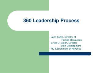 360 Leadership Process
