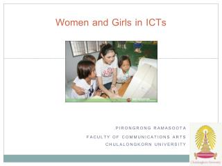 Women and Girls in  ICTs