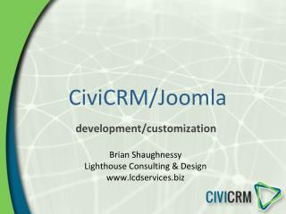 CiviCRM/Joomla