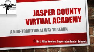 Jasper County Virtual Academy