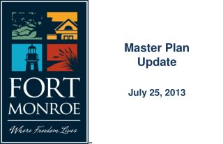 Master Plan Update July 25, 2013