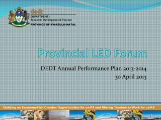 Provincial LED Forum