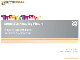 Small Business, Big Picture