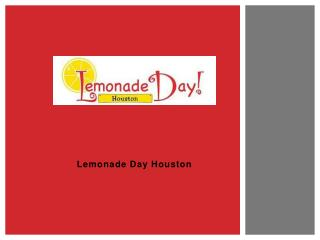 Lemonade Day Houston
