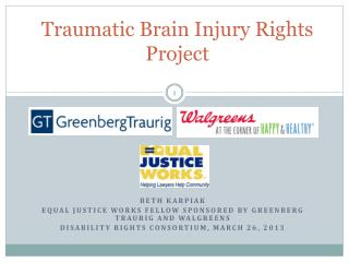 Traumatic Brain Injury Rights Project