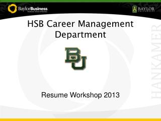 HSB Career Management Department