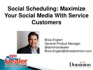 Social Scheduling: Maximize Your Social Media With Service Customers