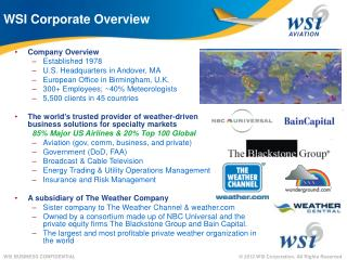 Company Overview Established 1978 U.S. Headquarters in Andover, MA  European Office in Birmingham, U.K. 300+ Employees;