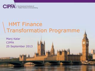 HMT Finance Transformation Programme