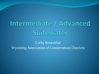 Intermediate / Advanced  Suitewater