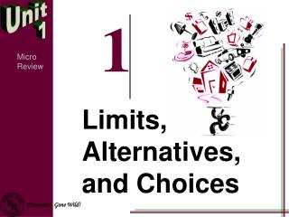 Limits, Alternatives, and Choices