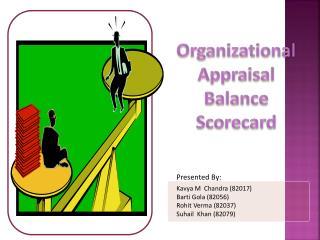 Organizational Appraisal Balance Scorecard