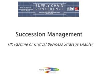 Succession Management