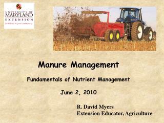 fertilizer options