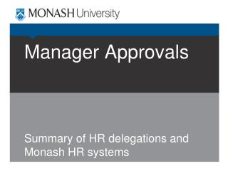 Manager Approvals