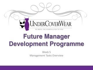 Future Manager Development Programme