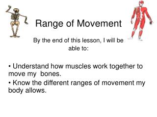range of movement