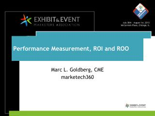 Performance Measurement, ROI and ROO