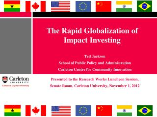 The Rapid Globalization of Impact Investing