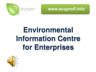 Environmental Information Centre for Enterprises