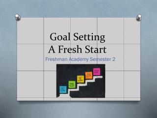 Goal  Setting A  Fresh Start
