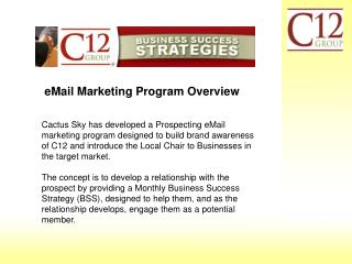 eMail Marketing Program Overview