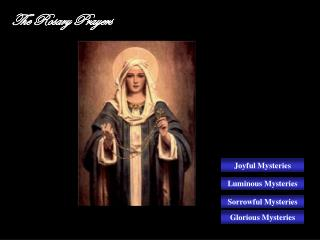 the rosary prayers