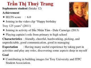 Trần Thị Thuỳ Trang