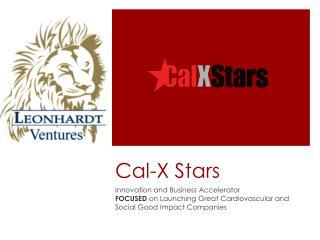 Cal-X Stars