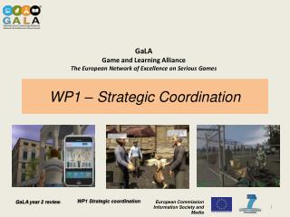 WP1 – Strategic  Coordination