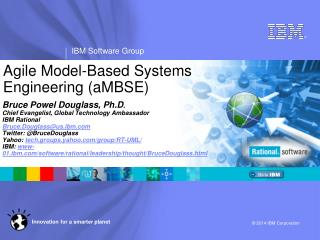 Agile Model-Based Systems Engineering  ( aMBSE )