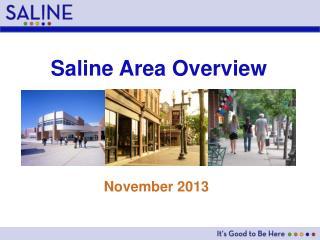 Saline Area Overview
