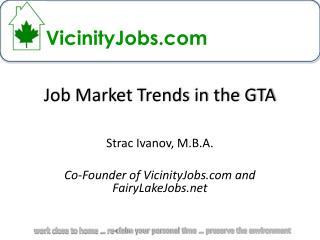 Job Market Trends in the GTA